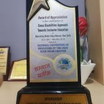 Award Appreciation National Convention Educars The Deaf NCED Delhi Chapter